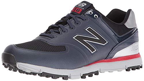 New Balance Men's nbg518 Golf Shoe, Navy/Red, 11.5 D US