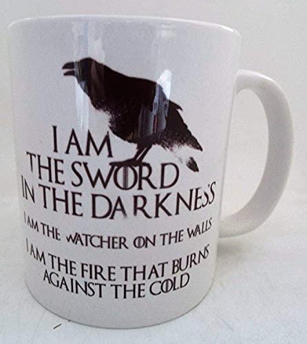 N\A Soy la Espada en la Oscuridad Reloj de Las Noches Taza