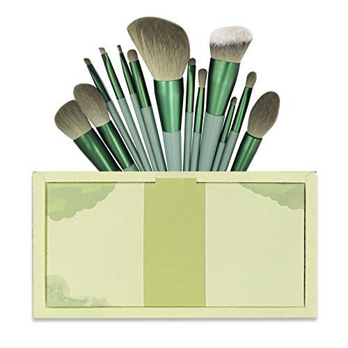 メイクブラシ 13本 セット かわいい メイクブラシセット 柔らかい化粧筆 化粧ブラシセット 人気ファンデーションブラシ フェイスブラシ 収納ポーチ付き