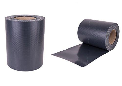 Enjoy-Quality Premium -450 g/qm Sichtschutzstreifen/Zaunfolie 35mx19cm-inkl. 22 Befestigungsclips - Stabmattenzaun - Windschutz/Wetterfeste Sichtschutzrolle - Anti-Fading