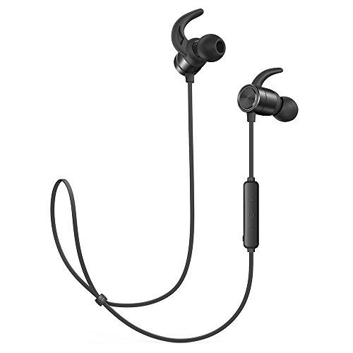TaoTronics Bluetooth Kabellose Kopfhörer 4.1 9 Stunden IPX6 Wasser- & Schweißgeschützt In Ear Kopfhörer, CNC-Verarbeitung unterstützt OTG-Laden kompatibel mit Android IOS Geräten*