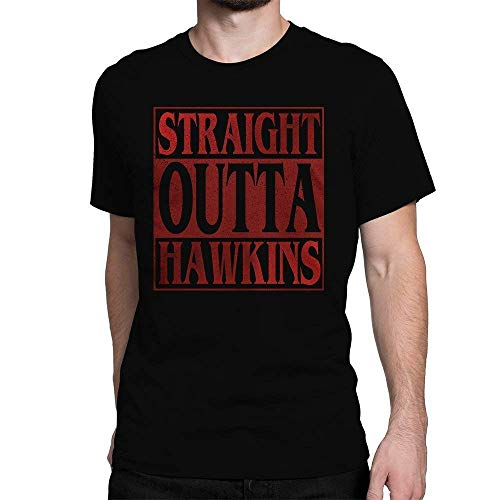Straight Outta Hawkins Stranger Things T-Shirt Horror TV Sho