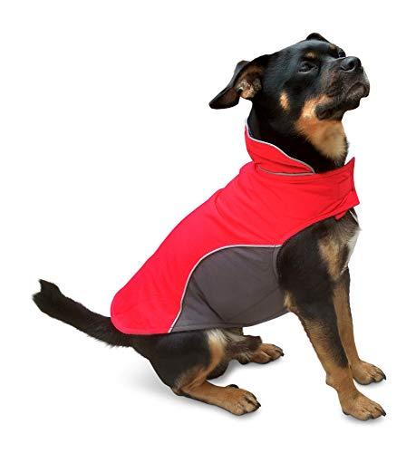 SMARTY Warmer Hundemantel, Innen mit Fleece, atmungsaktiv und wasserabweisend (14)