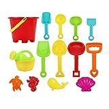 Toyvian 1 Set Giocattoli per Il Tempo Libero da Spiaggia Set da Gioco Strumenti di Sabbia per Bambini Bambini