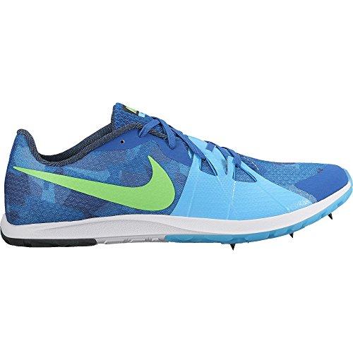 Nike Men's Zoom Rival XC Spikes Blue Jay/Rage Green/Blue Fury/Blue Orbit Size
