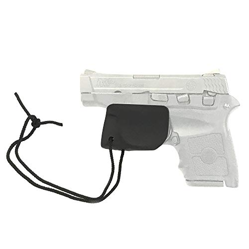 ClipDraw Trigger Sheath Trigger Guard Holster Black with Paracord (S&W Bodyguard .380)