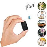 Mini Magnetic Micro GPS Tracker, Anti Theft Real TimeGPS Locator Handbag Wallet Pockets School Bag Important Documents Lost Finder Tracker -