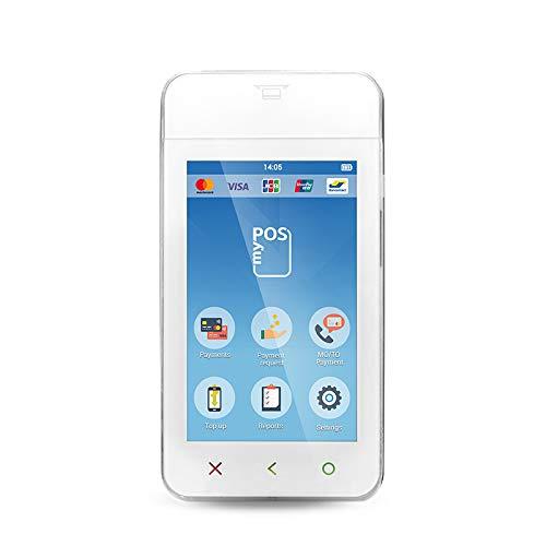 myPOS Mini Ice mini-tasca Lettore di carte di credito con scheda dati inclusa per connessione a Internet gratuita costante per pagamenti senza contatto
