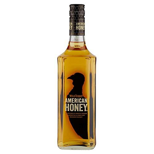 Wild Turkey American Honey Liquore a Base di Miele e Whiskey Bourbon con Note di Caramello e Arancia, 35.5% Vol, Bottiglia in Vetro da 70 cl