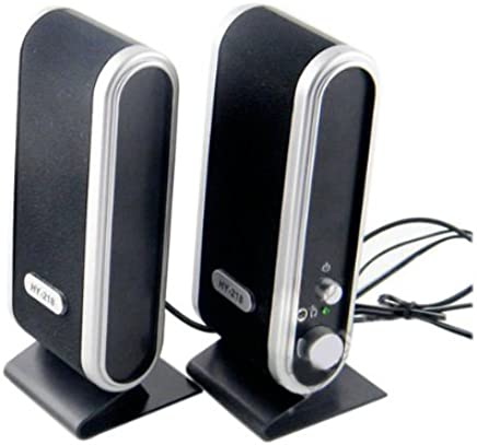 USB Power Laptop Wireless External Computer Speakers For Computer Laptop PC With 3.5mm Microphone Headphone Audio Jack