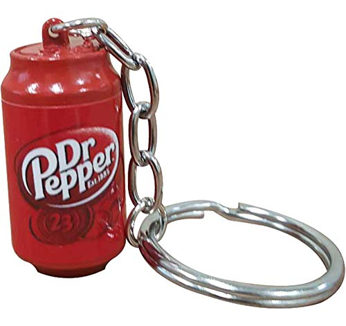 H3 SPORTGEAR 3D-Schlüsselanhänger Dr. Pepper Form