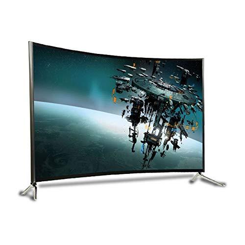 DAPAO Televisión LCD Inteligente,TV Calidad De Imagen Ultra Clara, Pantalla Curva Flexible, Campo De Visión Más Tridimensional/Más Cómodo/Más Grande, Audio Integrado Independiente