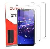 3 Pezzi, Vetro Temperato Compatibile con Huawei Mate 20 Lite SNE-LX1, Vetrino Pellicola Protettiva Anti Graffio, Anti-Impronte, Durezza 9H, 0,26mm Ultra Trasparente, Ultra Resistente