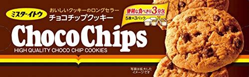 イトウ製菓 チョコチップクッキー 15枚×6箱