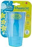 Dr. Brown's DRB-TC01040-INTL - Vaso 360 Sin Boquilla Sin Asas, Azul, 300 ml