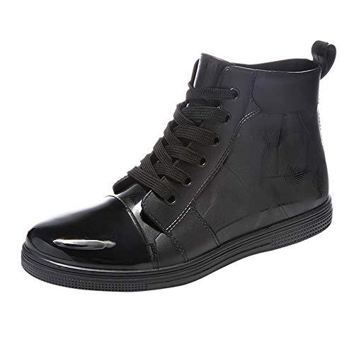 LINGZE Zapatos plásticos Impermeables para la Lluvia, Botas de jardín cómodas para el Trabajo de los Hombres, Ligeras