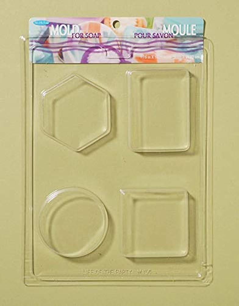 ジャム縫い目に勝るSoap Bar Mold-4 Shapes (並行輸入品)