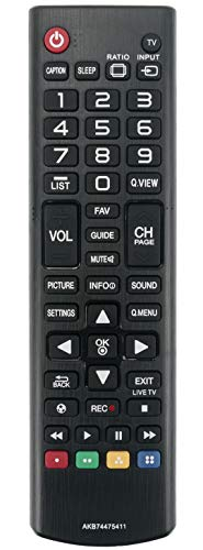 ALLIMITY AKB74475411 Mando a Distancia reemplazado por LG TV 32LB550B 42LB5500 42LB5500-SD 32LB550B-SD 49LB5500 49LB5500-SD 32LB560B 32LB560B-SA 39LB5600 39LB5600-SB 32LB5600-SB 32LB5600
