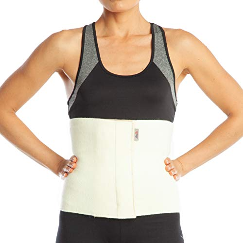ArmoLine Wolle Rückenwärmer, Nierenwärmer, Wärmegürtel, Leibwärmer für Damen und Herren (S)
