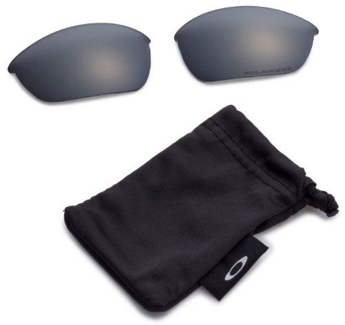 Oakley Half Jacket 2.0 Sunglasses Replacement Lenses, Black Iridium Polarized, 62 mm