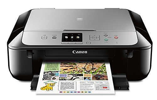 Canon MG5721 Wireless All-In-One Printer with Scanner and Copier: Mobile and Tablet Printing with Airprintcompatible