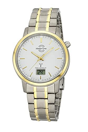 Master Time Reloj analógico digital para hombre con mecanismo de cuarzo y correa de titanio MTGT-10751-51M