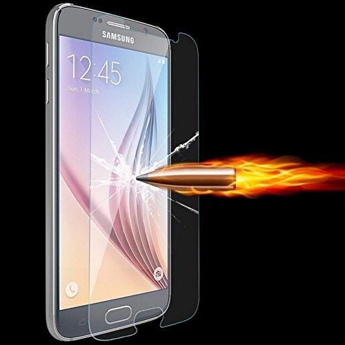 Roar Samsung Galaxy Alpha Panzerglas Folie, Panzerfolie Schutzfolie Bildschirmschutzfolie, Bildschirmschutz 9H Tempered Glass