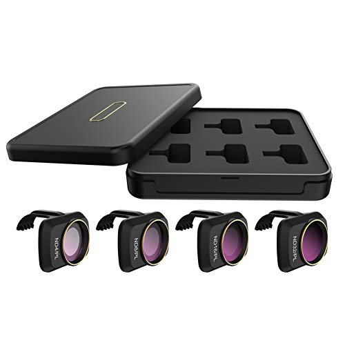 Mini Lens Filter Set for DJI Mavic Mini Drone, Ultralight Anti Scratch Drone Lens Filters - Multi-Layer Coating Optical Glass Lens Filters Kits - ND/PL or MCUV, CPL, ND4, ND8