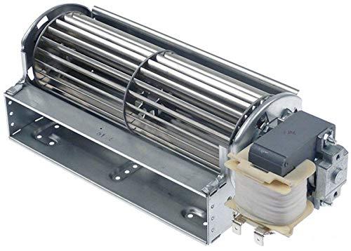 Querstromlüfter QLZ06/1800-2524 von ebm-papst 230V/50Hz 33 W Ø 60 mm L 180 mm Kältetechnik 150 m³/h Motor rechts Lager aus Gummi