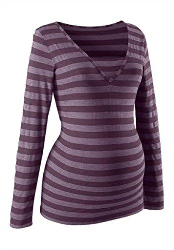 Umstandsmode Umstandsshirt Stillshirt Stillen Schwangerschaft NEU 44/46 blau