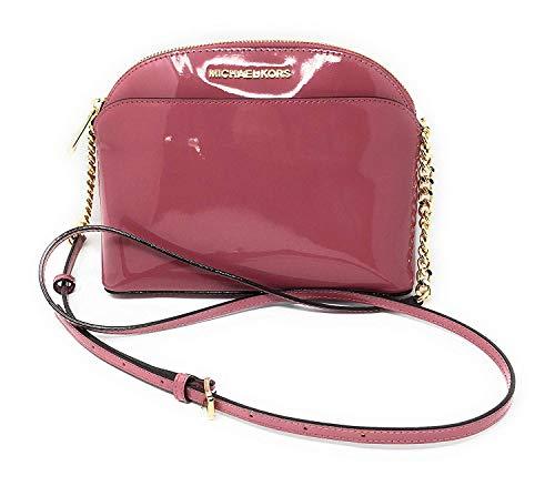 Michael Kors Emmy tulip patent leather medium crossbody bag