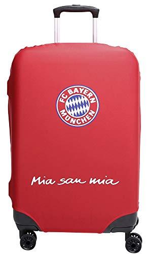 MarkenMerch Kofferhülle FC Bayern München Koffer, 77 cm, Rot Mit Logo