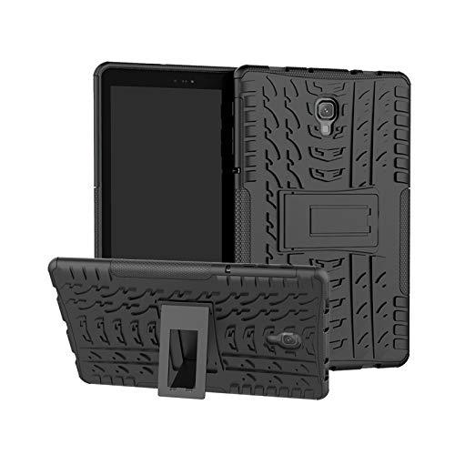 Lobwerk Hülle für Samsung Galaxy Tab A 10.5 Zoll T590 T595 Outdoor Cover Schutz + Ständer Schwarz