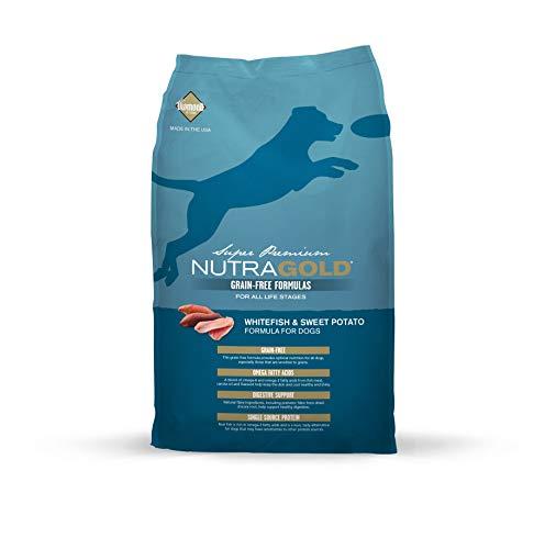 Nutra Gold Holistic pienso para perros sin grano con Pescado Blanco 2,3 kg