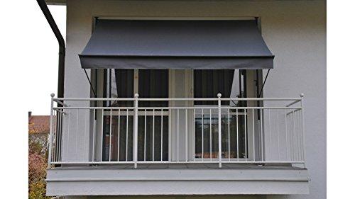 Angerer Klemmmarkise Style Anthrazit, 150 x 400 x 225 cm, 2304/262,Grau