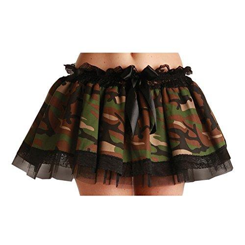 Camouflage armée tu tu jupe, un adulte de taille env. 36-40