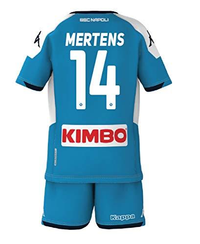 SSC Napoli Mertens 2019/2020, Set Gara Kinder, Jungen, 8033562604050, 14 Mertens, 14 anni