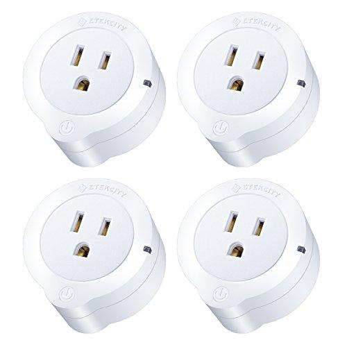 Etekcity WiFi Smart Plug with Energy Monitoring (4-Pack)