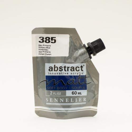 Sennelier Color acrílico mate Serie Abstract Matt 60 ml 385 azul primario