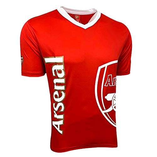 Arsenal Poly Jersey (Large) Red