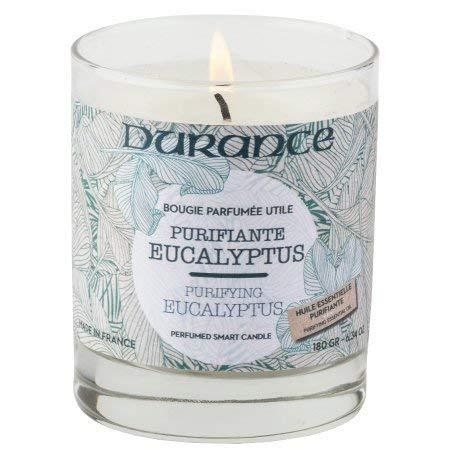 DURANCE Bougie Parfumée Eucalyptus Purifiant