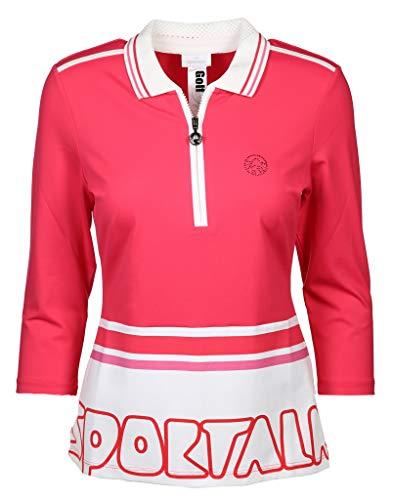 Sportalm Damen Poloshirt Größe 46 EU Pink (pink)