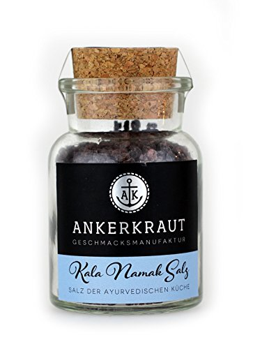 Ankerkraut Kala Namak Salz, 150g im Korkenglas