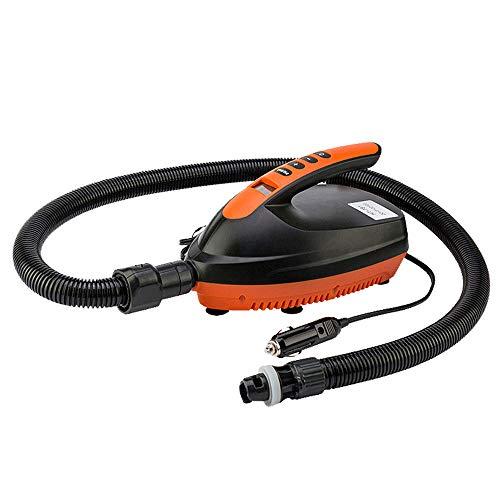 Festnight Bomba de Aire eléctrica para Uso en el automóvil Tabla de Remo Tabla de Surf Bote Inflable Bomba Inflable de Alta presión Bombeo de Aire