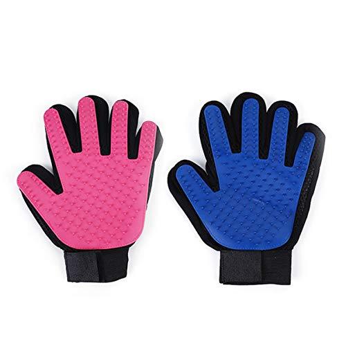 2 Stks Huisdier Kat Badend Haar Kam Massage Handschoenen Om Kat Haarverwijderingsborstel te kopen Om een ontspannende en vreugdevolle massage voor uw huisdier te bieden. Huisdier benodigdheden