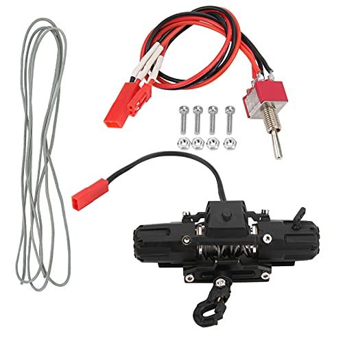 DAUERHAFT Cabrestante de Motor Doble RC, cabrestante simulado automático RC de Doble Motor para TRX4 / SCX10 / 90046 / D90 / D110 para Coche de Control Remoto
