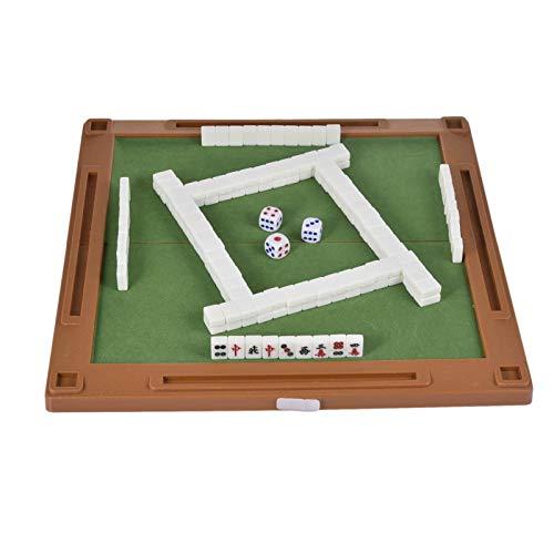 Juego de juego de Mahjong chino, Mini juego de azulejos de Mahjong...