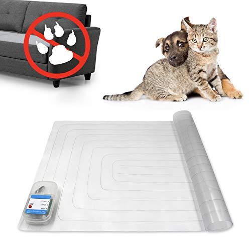Haustiermatte für den Innenbereich, 76,2 x 40,6 cm, Trainingsmatte Hunde und Katzen, elektronische hält Haustiere von Möbeln, sichere Hundeabwehrmatte mit 3 Trainingsmodi, Sofa-Schutz