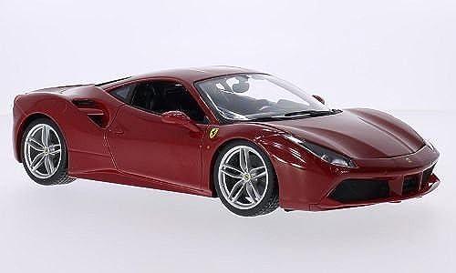 Ferrari 488 GTB, rouge, 2015, Model voiture, Ready-made, Bburago 1 18 by Ferrari
