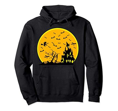 All Halloween Eve - Disfraz de murcilagos de atardecer Sudadera con Capucha